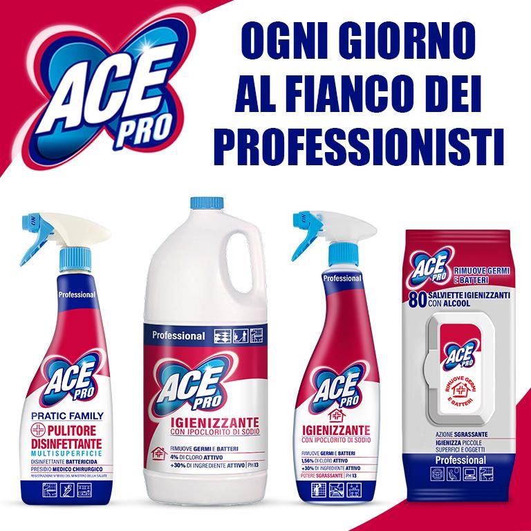 Prodotti professionali per l'igiene