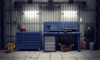 Come rimuovere il grasso in garage