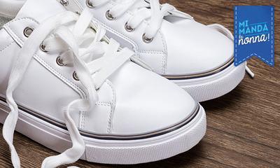 Come sbiancare la para delle scarpe