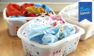 Come togliere le macchie di sudore dal bucato