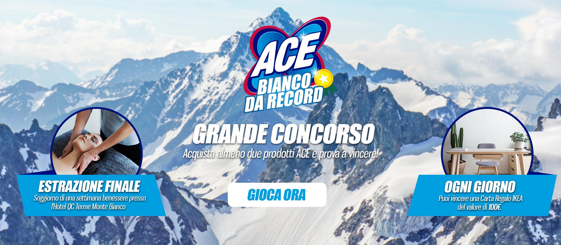 ACE Bianco da record