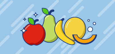 Macchie di frutta