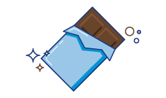 Macchie di cioccolato