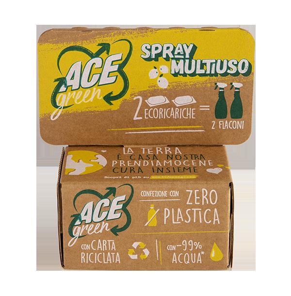 ACE Green Spray Multiuso ecoricariche