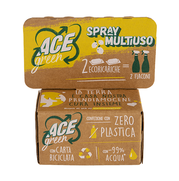 ACE Green Spray Multiuso ecoricariche