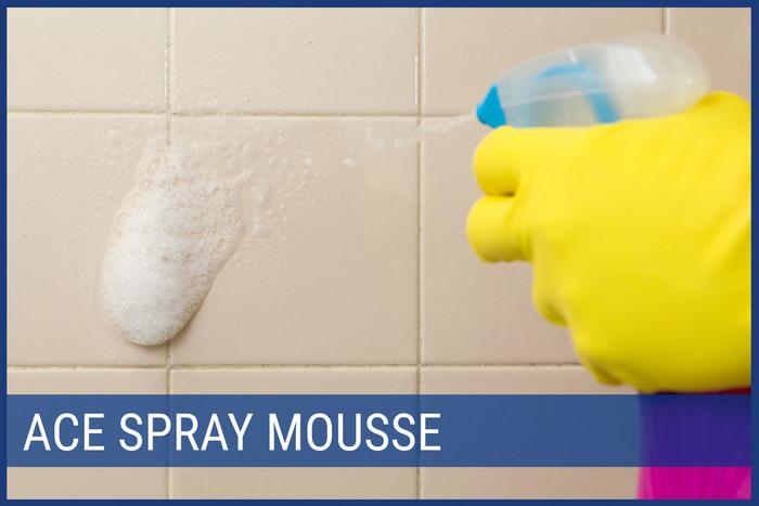 Come pulire le piastrelle del bagno ace - Muffa bagno candeggina ...